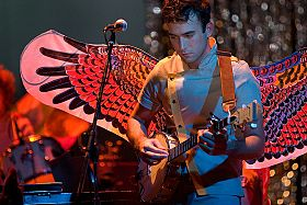 Sufjan Stevens Playing Banjo