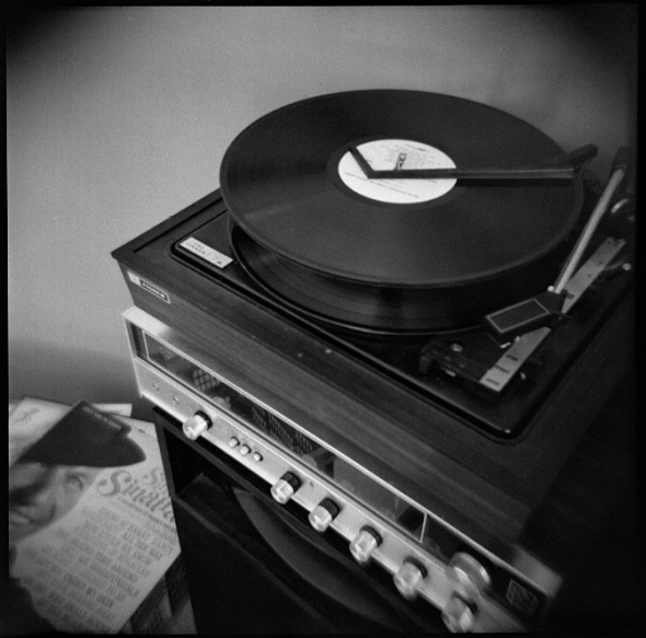 Holga of record player