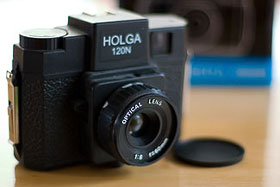 My modified Holga 120N